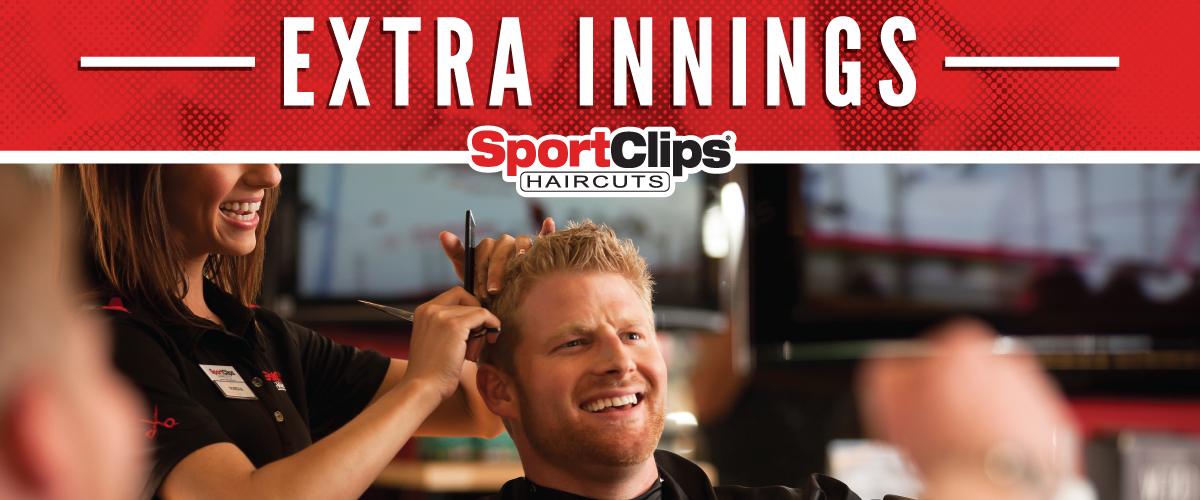 The Sport Clips Haircuts of Wichita - One Kellogg Place  Extra Innings Offerings